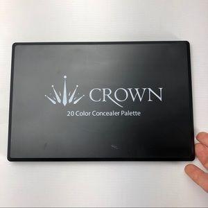 Crown Cream Concealer Palette 20 Colors NEW 🐣
